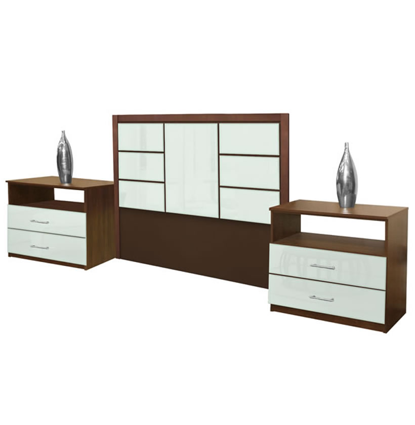 Downtown Full Size 3 Piece Bedroom Set Contempo Space