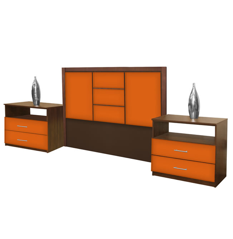 Broadway queen size 3 piece bedroom set contempo space for 3 piece queen size bedroom set