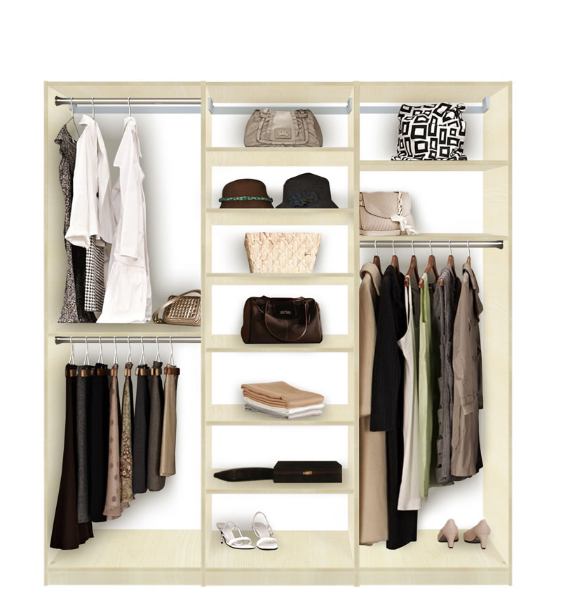 Do It Yourself Home Design: Lots Of Shelves And Hanging For Walk