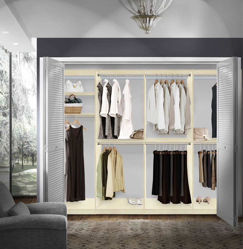 Walk In Closet Solutions: Isa Walk In Closet Systems