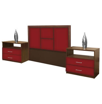 madison full size 3 piece bedroom set contempo space
