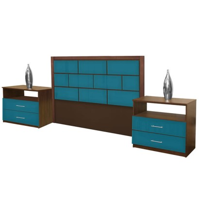 Manhattan King Size 3 Piece Bedroom Set