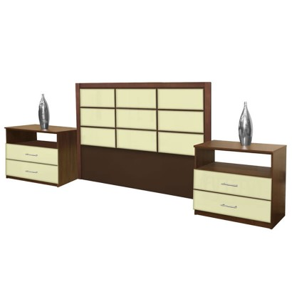Cambridge King Size 3 Piece Bedroom Set
