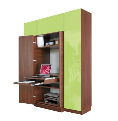 Haley Computer Armoire Plus Home Office Storage