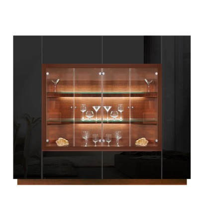 contemporary glass display cabinet 2