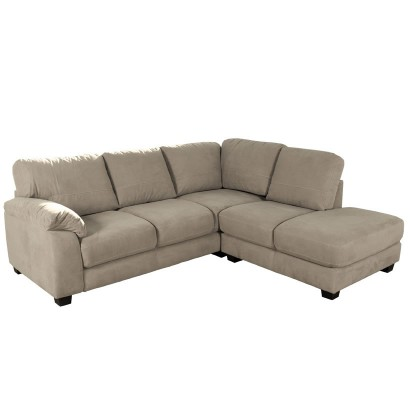 Bryce Sectional Sofa - Microfiber L Shaped Sectional