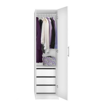 Alta Narrow Wardrobe Closet Right Door 3 Interior