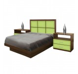 Rico Full Size Platform Bedroom Set 4 Piece