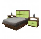 Rico Full Size Bedroom Set w Storage Platform
