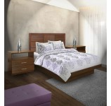 Montclair Queen Size Platform Bedroom Set 4 Piece