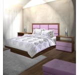 Montclair King Size Bedroom Set w Storage Platform