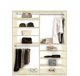 Isa Closet System - High and Low - Easy to Reach Everything