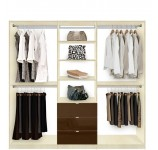 Closet Organization System Triple Wide