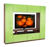 Metropolis Wall Unit Colored Glass
