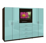 Aventa Wardrobe TV Cabinet - Double Door Wardrobe Cabinets for TV