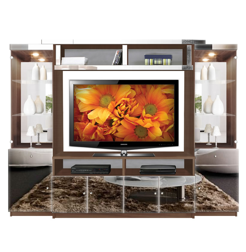 Home Entertainment Spaces: Emma Entertainment Center
