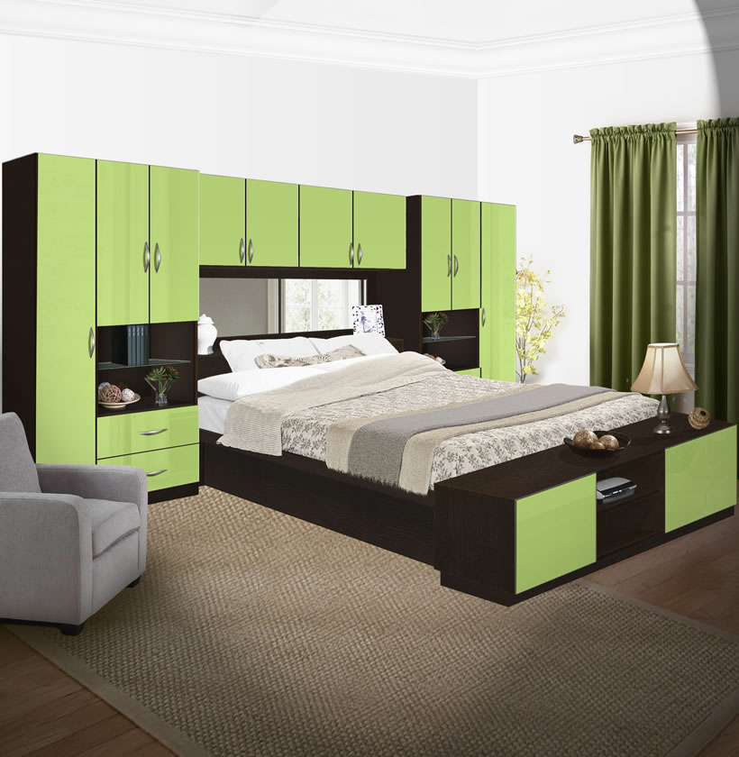 lincoln pier wall bedroom with storage cabinets contempo space