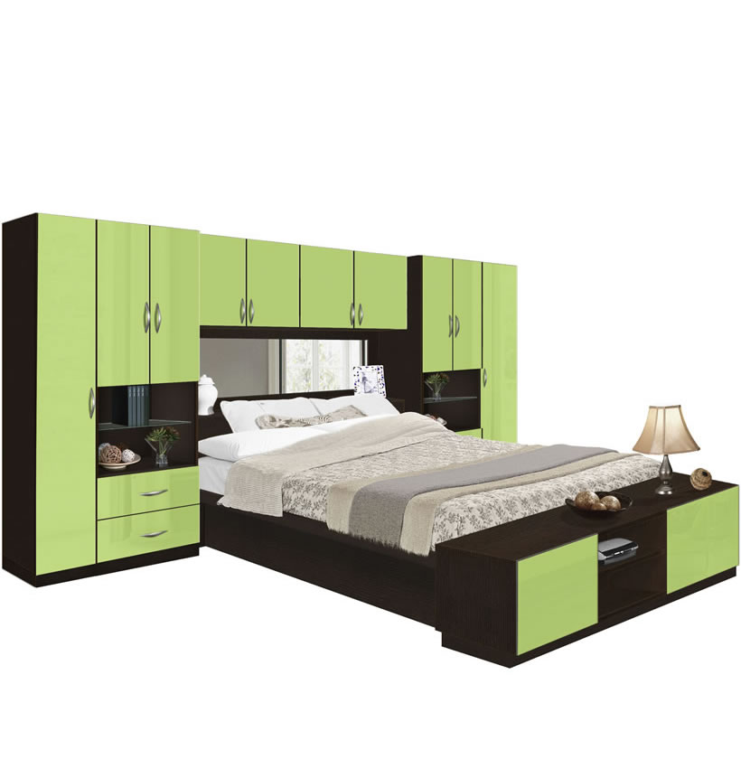 Lincoln Pier Wall Bedroom With Storage Cabinets Contempo