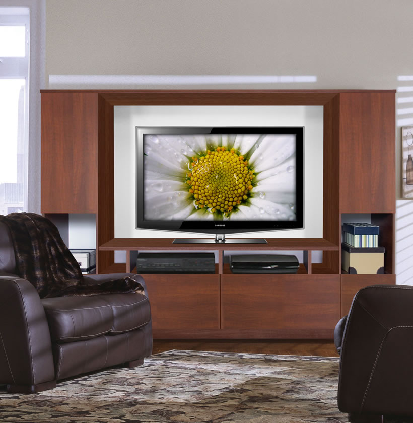 Marco Low Profile Entertainment Center For Low Ceilings Or