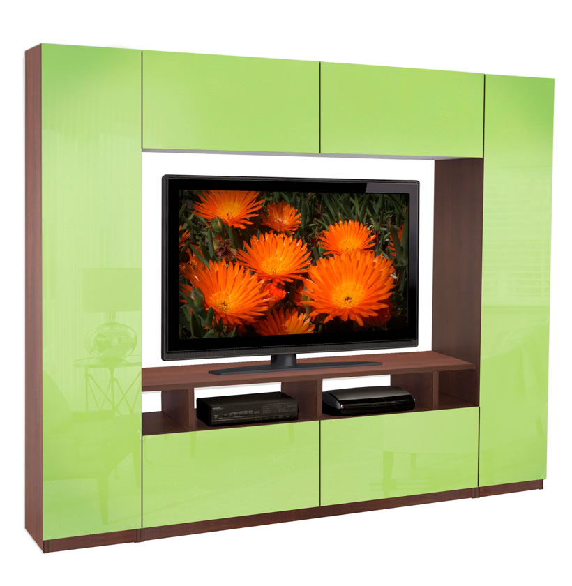 Metropolis wall unit 6 foot wall unit small in size but big on storage contempo space - Storage units for small spaces collection ...