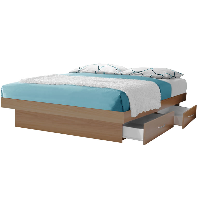 california king storage bed storage platform bed - Cal King Platform Bed Frame