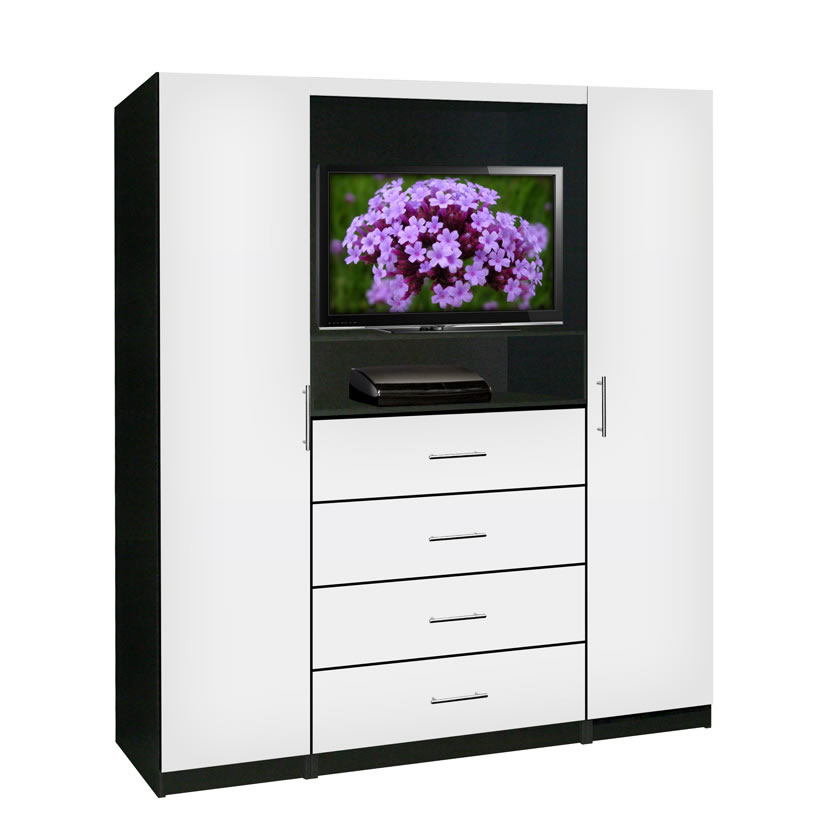 Aventa Bedroom TV Armoire | Contempo Space