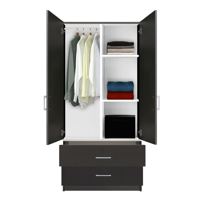 Armoire Wardrobe with Drawers 820 x 840