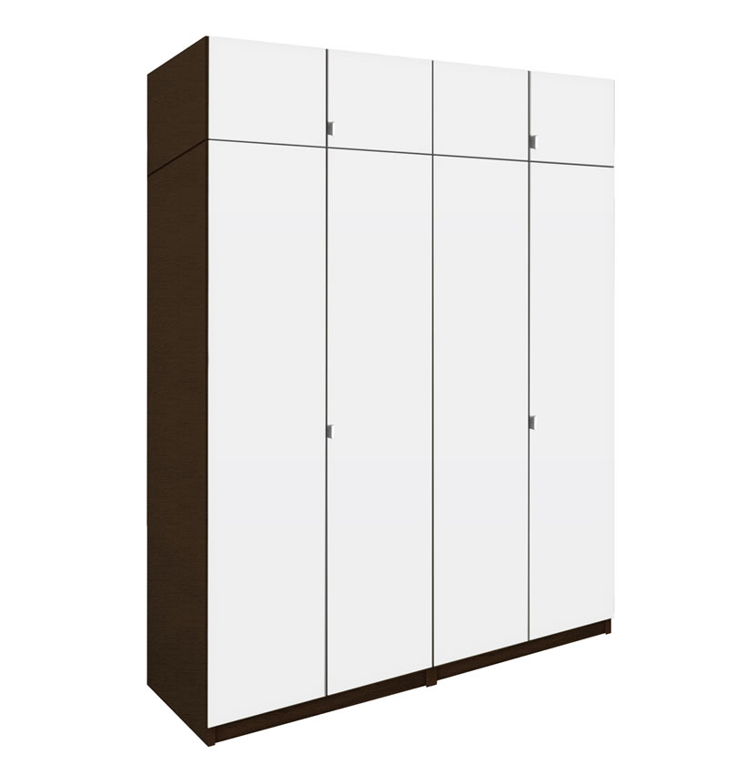 Alta tall wardrobe closet package drawer
