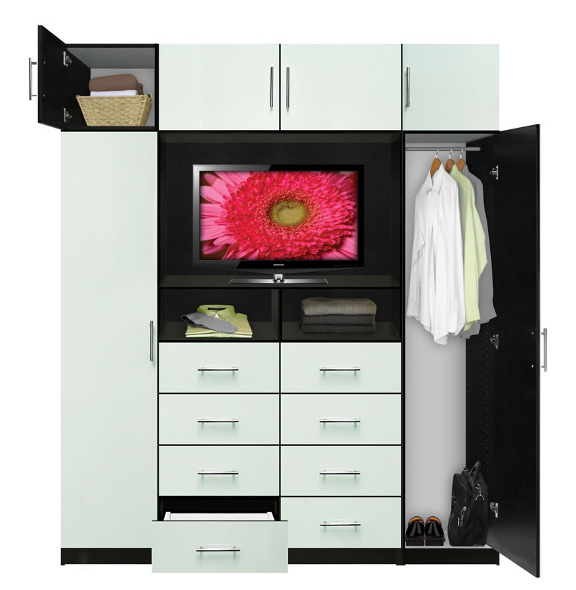 Aventa Tv Chest X Tall Chest With Tv Space And Cabinet