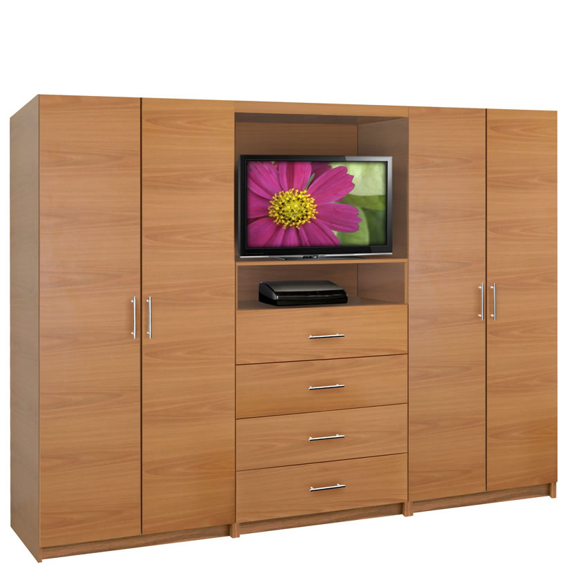 Aventa Wardrobe Tv Cabinet Double Door Wardrobe Cabinets
