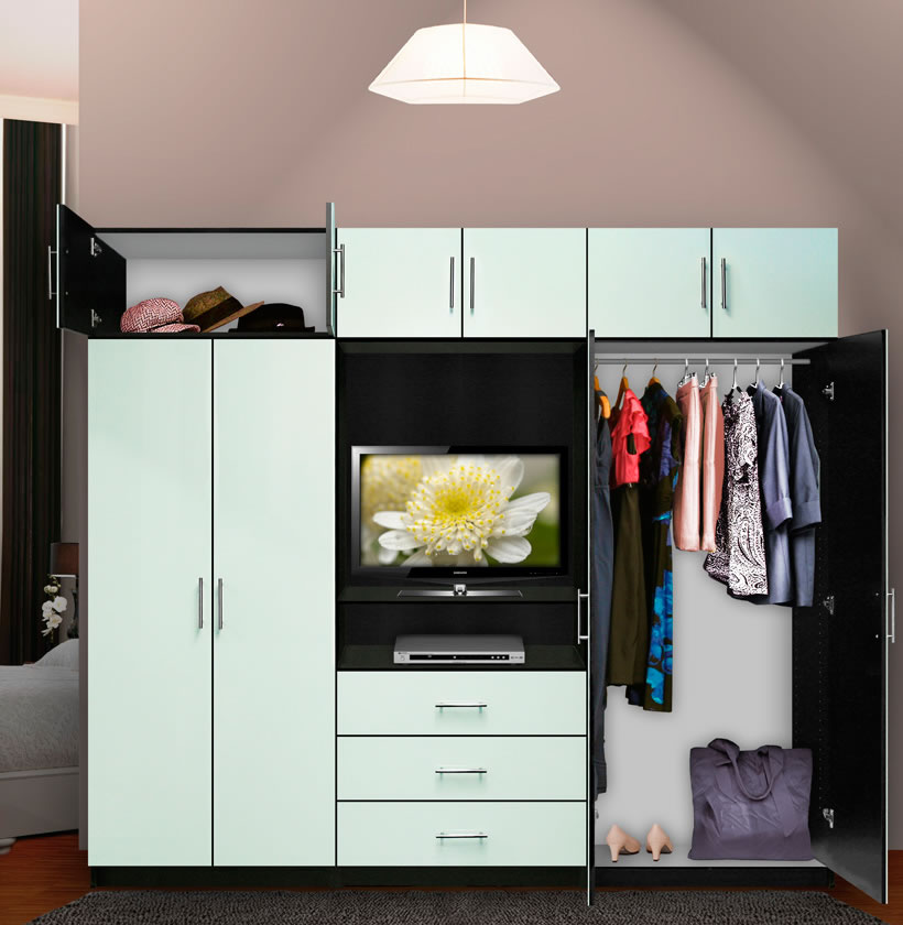 Aventa Bedroom Wall Unit X-Tall