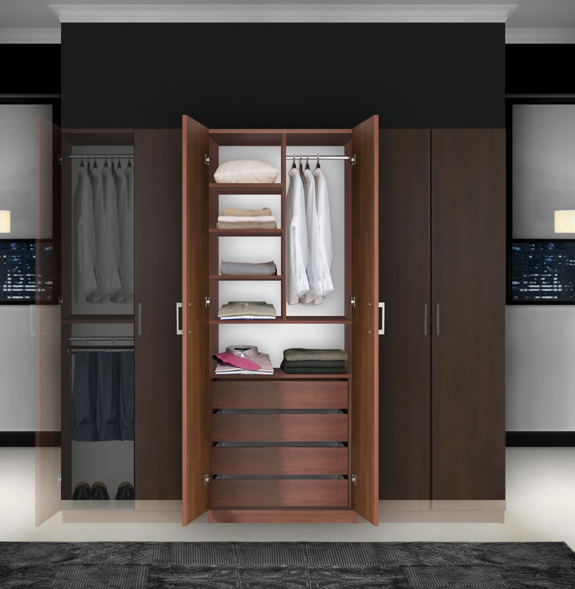 bella bedroom armoire double doors armoire contempo space