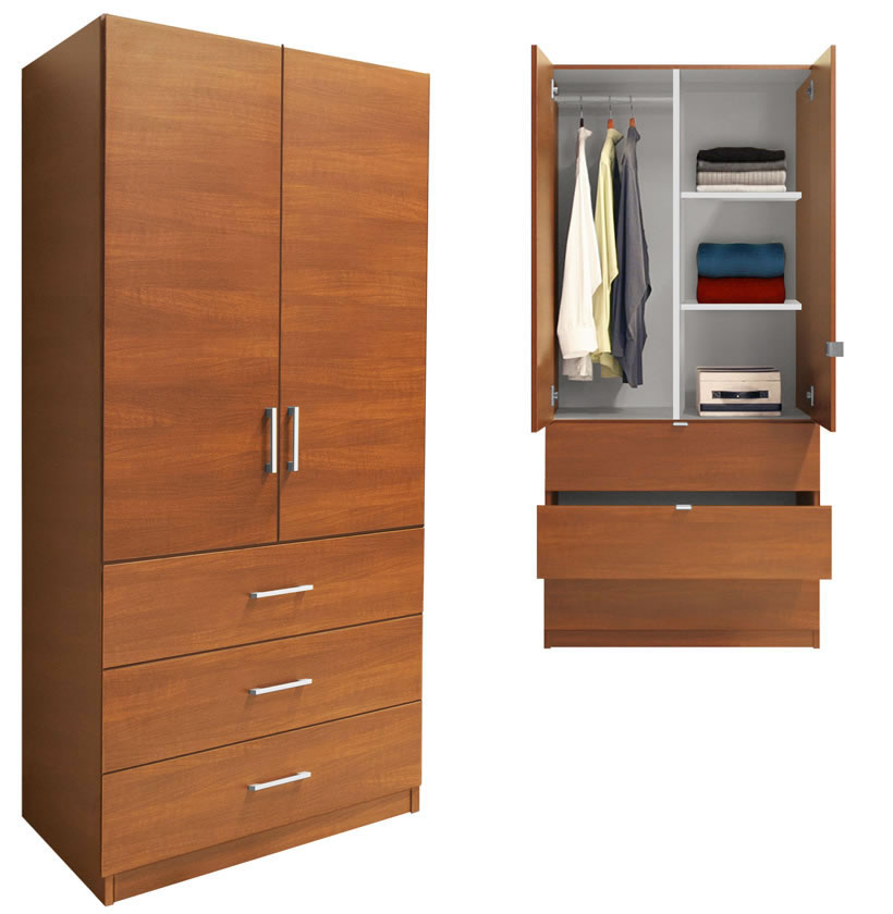 Wardrobe closet bedroom drawer dividers